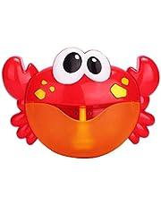 Bebé Baño De Burbujas Cangrejo Juguete Bubble Maker Bubble Blower Máquina De Burbujas Con Los Juguetes De Cuna 12 De Bañera De Burbujas Para Los Niños Del Bebé De Los Niños 1 Conjunto De Juguete