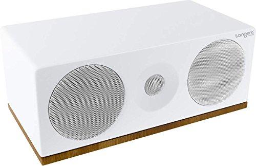 Tangent Spectrum XC 100W Lautsprecher (2-Wege-Lautsprecher, 100 W, 55-20.000 Hz, 6 Ohm, Weiß