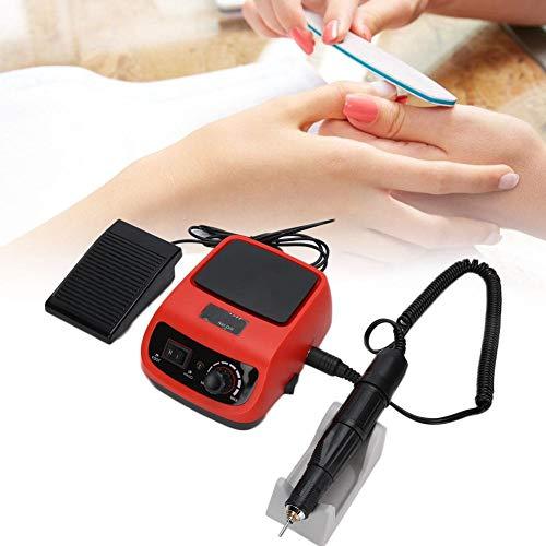 Nagelboor, 45000 RPM Elektrische Manicure Nagelboormachine Acryl Nagelboor Vijl Buffer Machine Kit Nail Art Polijstmachine Verwijderen voor thuis Nagelkunst Salon Winkel(EU)