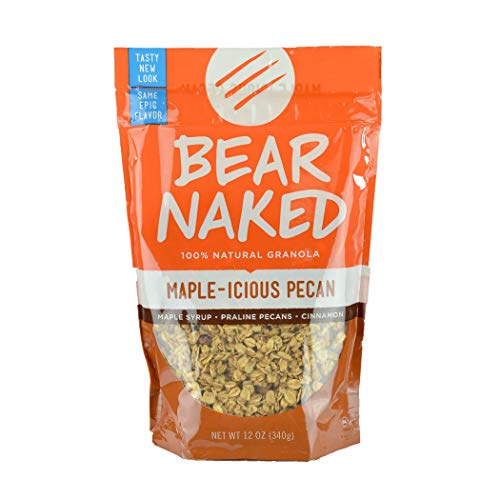 Bear Naked, Breakfast Cereal, Maple Pecan, 4.5lb Case (6 Count)