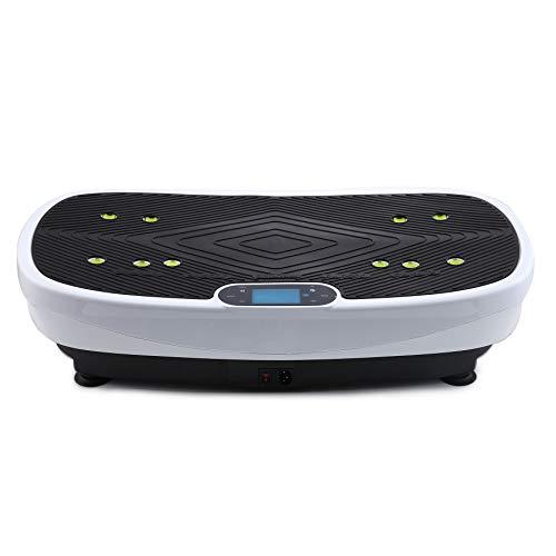 99 niveles 3 programas de entrenamiento Plataforma vibratoria Caroma 3D con superficie extremadamente grande Mando a distancia avanzado para moldear y perder peso en casa