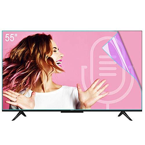 """N / A Televisor de Pantalla 32~80 Pulgadas Protector, Anti-luz Azul/Resplandor del Filtro a la Fatiga Visual aliviar, LED LCD HDTV OLED QLED, 49""""1075 * 605 mm,55""""1211 * 682 mm"""
