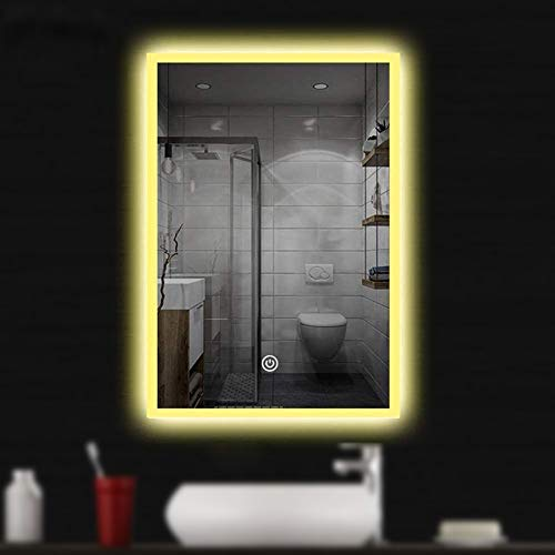 28X20 LED Bathroom Vanity Mirrors Anti-Fog & Dimmer Touch Switch Mirror, Backlit -