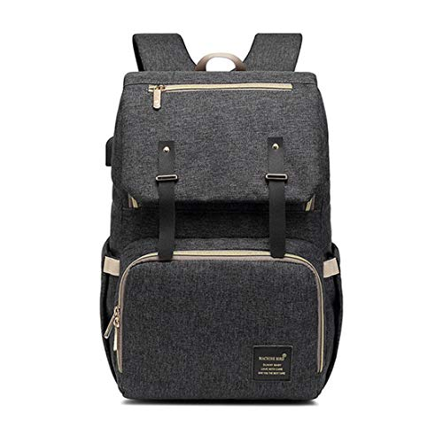 BigForest Multifunctional Nappy Bag with USB charging port Mummy Backpack Baby Sacs ¨¤ Dos ¨¤ Langer pour B¨¦b¨¦ Sac Maternity Tote Bag sac ¨¤ main