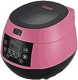 NLRHH Cocine el arroz Inteligente Arrocera, Inicio de múltiples Funciones Portable Olla de arroz, con Keep Warm función de Temporizador - Prima Olla Interior, Rosa, Blanco Peng (Color : Pink)