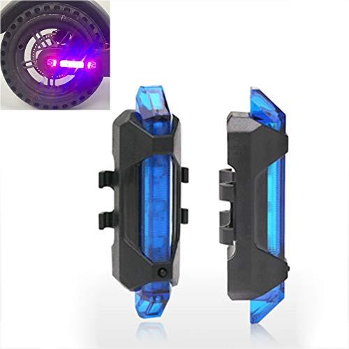 LICHIFIT - Tira de luces LED de advertencia para patinete eléctrico Xiaomi...