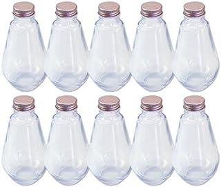 日本製 ハーバリウム 電球型ガラス瓶 218cc 10本セット