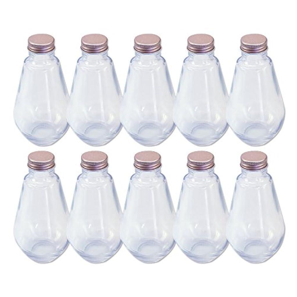 セメント起訴する優れました日本製 ハーバリウム 電球型ガラス瓶 218cc 10本セット