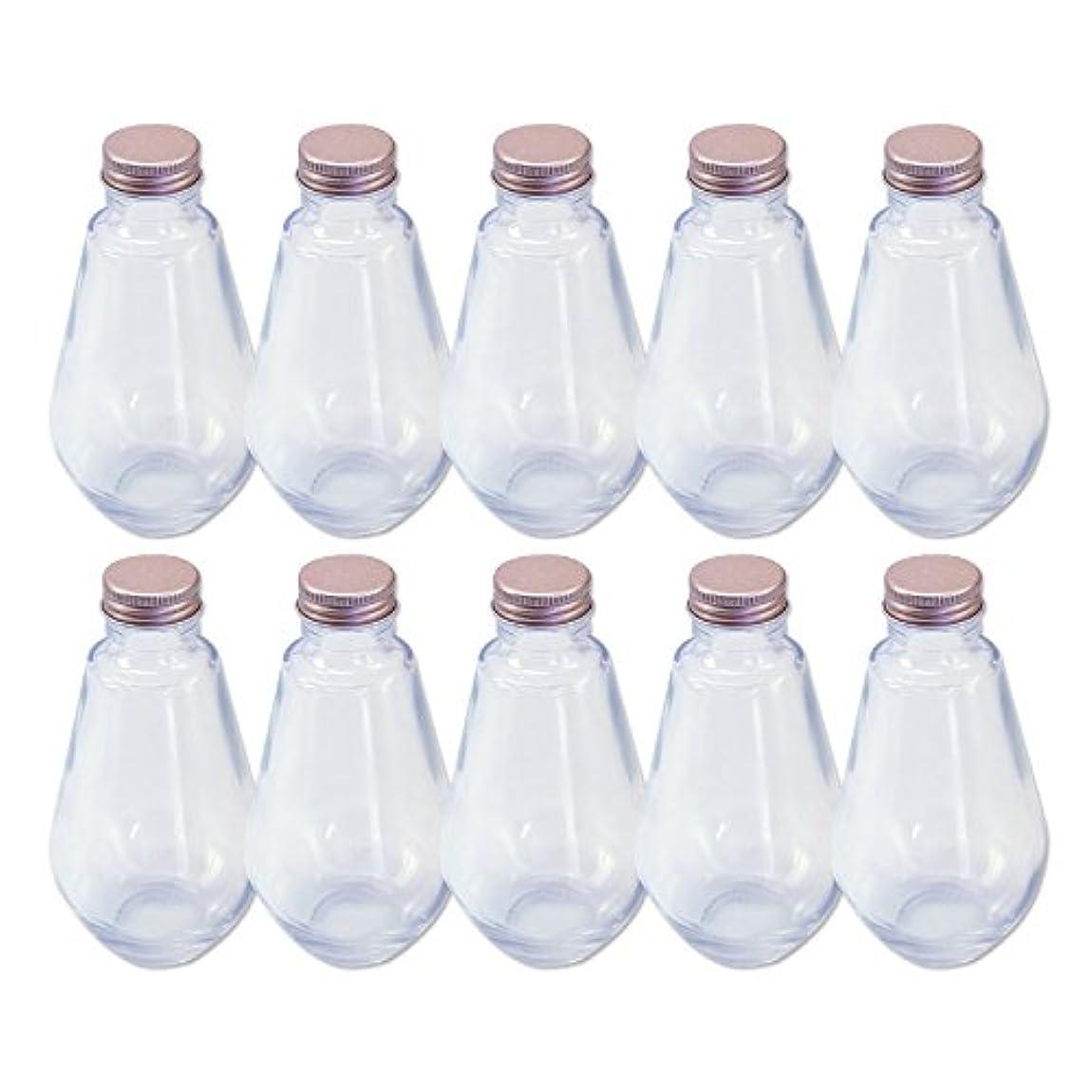 壁自発地下鉄日本製 ハーバリウム 電球型ガラス瓶 218cc 10本セット