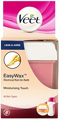 Veet Easy Wax Electrical Roll-On Refill - 50 ml, Legs and Arms