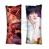 Cosplay-FTW Kpop BTS Boy with Luv Suga Body Pillow Cover Peach Skin Cotton Polyester Blend 40cm x 100cm (Set of 1, CASE ONLY)