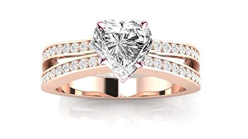 1.14 Ct Heart Diamond - 3