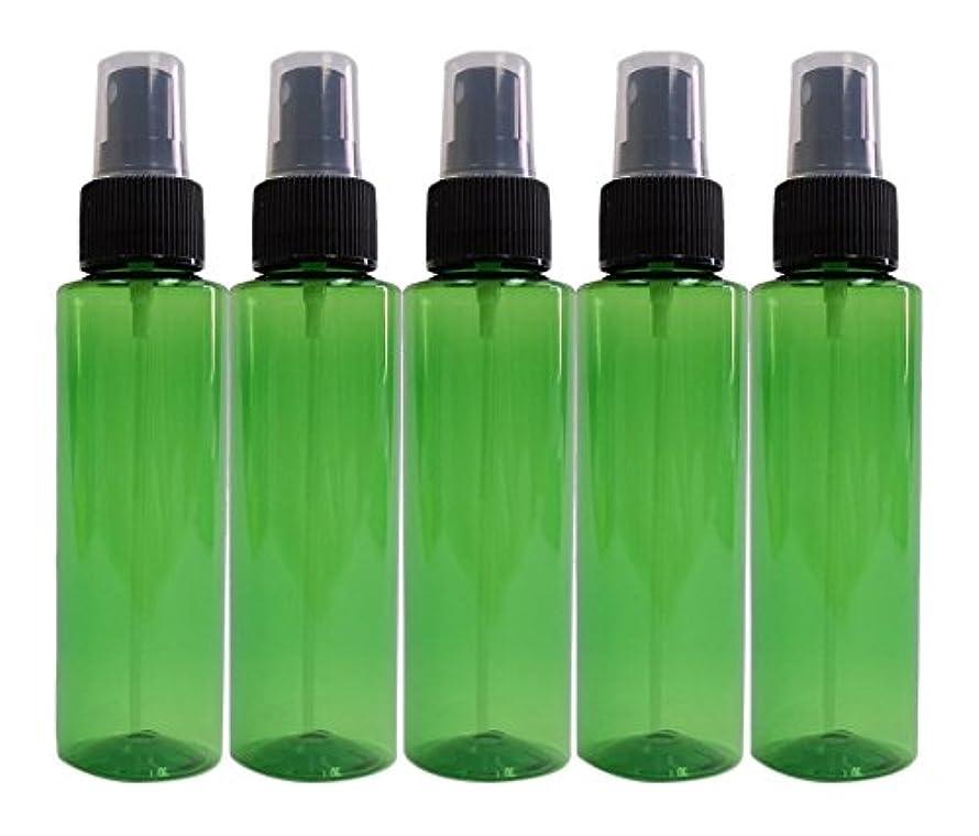 知っているに立ち寄るナラーバーウールease 保存容器 スプレータイプ プラスチック 緑色 100ml×5本