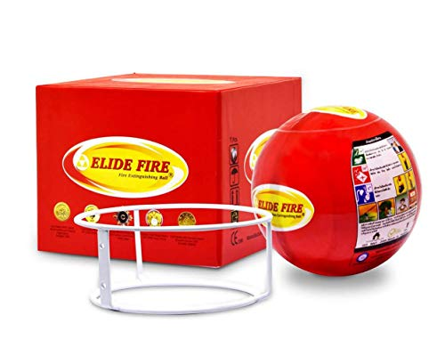 Elide Fire Ball, Self Activation Fire Extinguisher, 2018 New Version , Boat Extinguisher, Car...