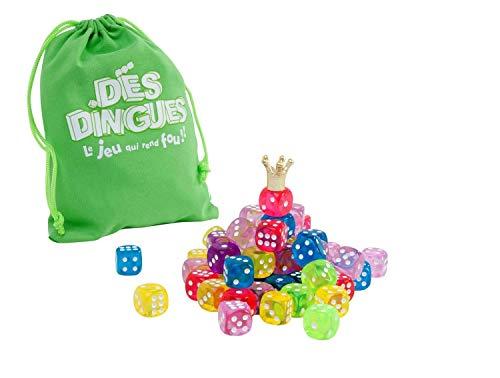 WIDYKA - A1300760 - Jeu dés Dingues - 64 Dés