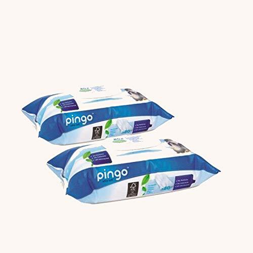 Pongo: toallitas ecológicas PH natural para pieles sensibles (2 paquetes de 160 toallitas)
