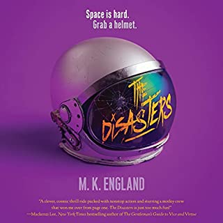 The Disasters audiobook cover art