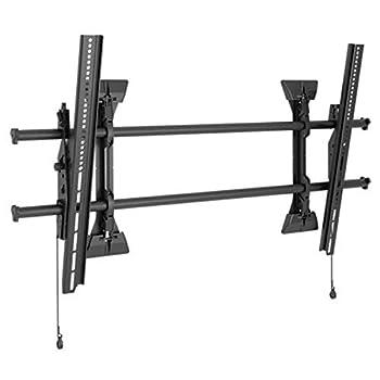 Chief XTM1U Tilt Wall Mount Fusion X-Large Micro-Adjustable 250 lb Weight Capacity 24.5  H x 42.75  W x 2.5  D Black