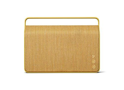 Vifa Copenhagen 2.0 Altavoz Amarillo - Altavoces (Inalámbrico y alámbrico, 3,5mm/Bluetooth, 50-20000 Hz, Amarillo)