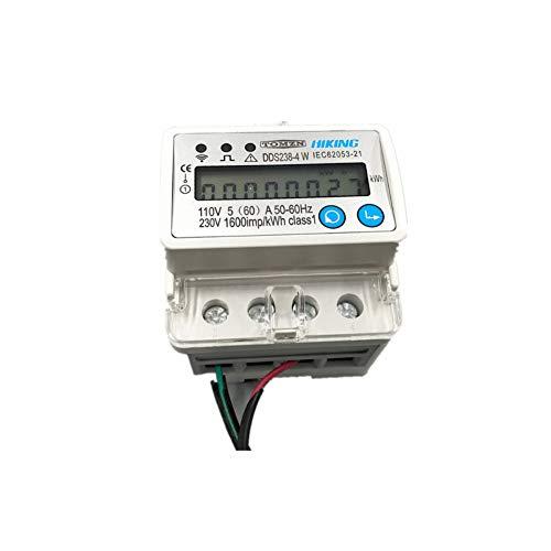 DLQHWY Disyuntor 5 (60) A 110V 230V 50Hz 60HzMonofásico Din Rail Wifi...