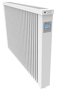 AeroFlow Calefacción eléctrica Midi 1950 con núcleo de Arcilla refractaria,aplicación Disponible con regulador con Pantalla FlexiSmart (Android,iOS),calefacción Auxiliar eléctrica,15 años de garantía