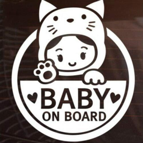 Baby on Board voor Vinyl Auto Sticker Sticker Decal/Car Window Decor CT048 10 * 11.5CM(3.94 * 4.53in)