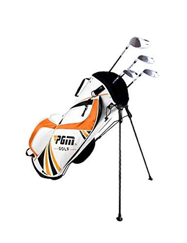 Mochila de golf bolsa de viaje de golf de los hombres de soporte del golf bolsa de bolsa vertical puede quedar pendiente de ultra ligero de gran capacidad de nylon antideslizante resistente al desgast