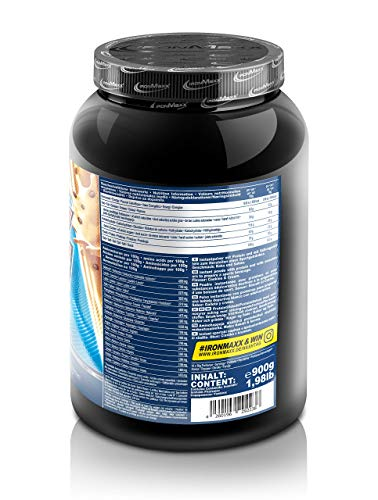 Ironmaxx 100% Whey Protein, Cookies & Cream, 900g - 2