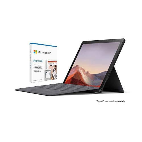 Microsoft Surface Pro 7 12.3' Intel Core i7 16GB RAM 256GB SSD Matte Black + Microsoft 365 Personal 1 Year Subscription for 1 User
