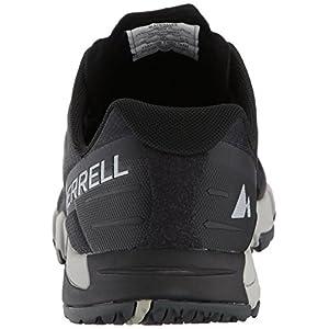 Merrell Men's Bare Access Flex Trail Runner, Black/Silver, 10.5 M US