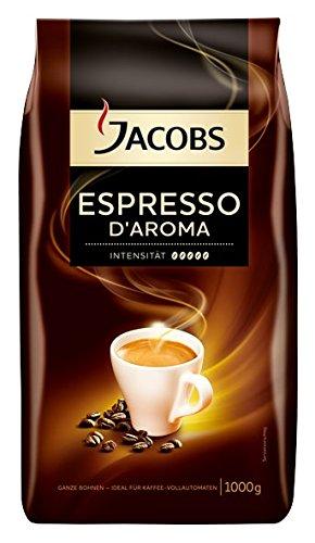 Jacobs Espresso D'Aroma ganze Bohne, 1 kg
