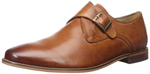 Florsheim Men's Montinaro Single Monk Dress Shoe Slip On , Saddle Tan, 12 D US