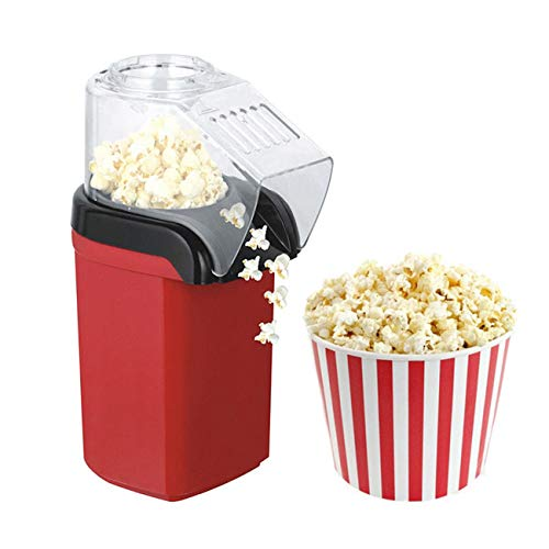 Fantastic Prices! Quantong Popcorn Popper Machine 1200W Electric Hot Air Measuring Cup and Removable...