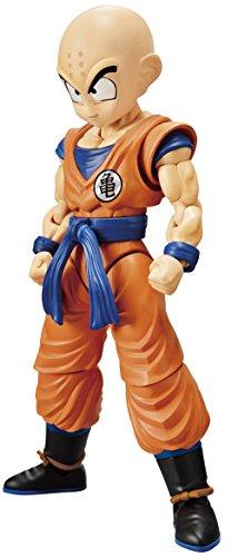 Bandai Hobby- Krilin Set Model Kit 14 cm Dragon Ball Z Figure-Rise Standard 83857P (BDHDB197614)