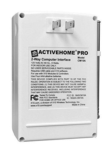 X10 ActiveHome Pro USB Transceiver Module - CM15A