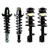 Pontiac Vibe Axles & Components - Detroit Axle Replacement for 2003-2008 Toyota Matrix Pontiac Vibe [ FWD Models Only ] Front & Rear Strut & Spring Assembly - 4pc Set