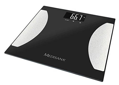 Medisana BS 475 - Báscula digital de baño de baño, LCD