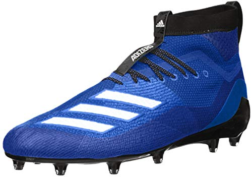 adidas Men's Adizero 8.0 SK Football Shoe Collegiate Royal/White/Black 11 M US