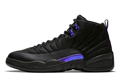 Nike Chaussures Air Jordan 12 Black Concord CT8013-005 pour homme, noir (Noir/noir/bleu foncé.), 46 EU
