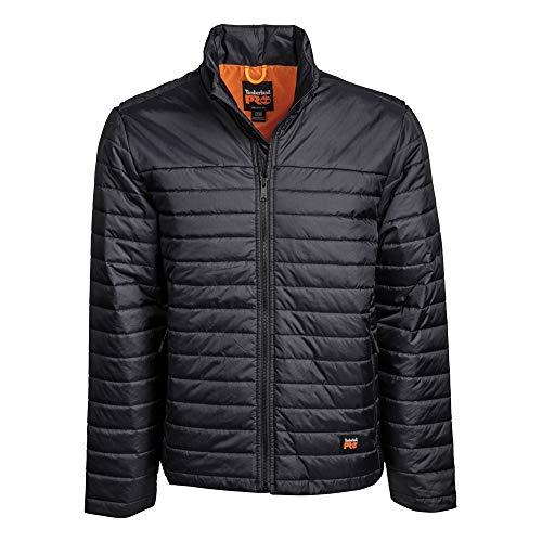 Timberland PRO Men's Mt. Washington Insulated Jacket, Jet Black, XL