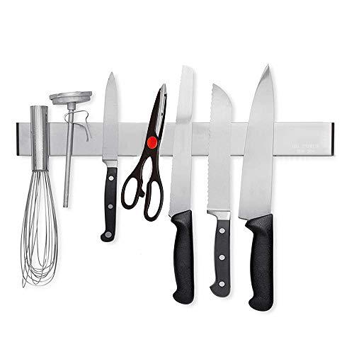 avis acier pour couteau professionnel Porte-couteau électrique HG, barre de couteau magnétique, porte-couteau magnétique en acier inoxydable…