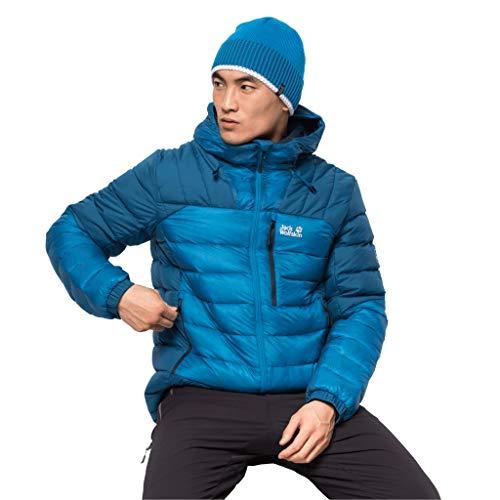 Jack Wolfskin Herren North Climate Jacket M Daunenjacke, Blue Pacific, L