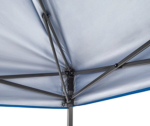 AmazonBasics - Carpa pop-up con paredes laterales, 3 x 3 m, azul 2