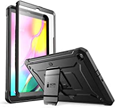 SUPCASE Unicorn Beetle Pro Series Case Designed for Galaxy Tab A 10.1 (2019 Release), Full-Body Rugged Heavy Duty Protective Tablet Case with Built-in Screen Protector (Black)