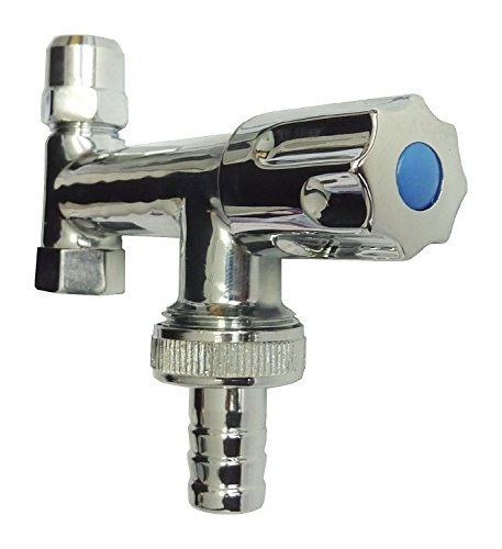 Sanitop-Wingenroth 17111 3 Geräte-Ventil Eckfix, Chrom-lange Ausführung