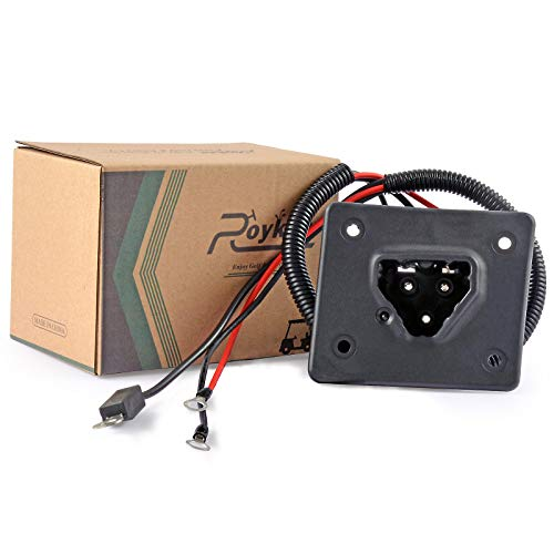 Roykaw EZGO RXV TXT Charger Receptacle 48V Golf Cart Delta-Q Charger OEM #602529