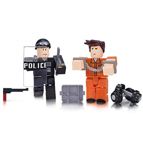 Roblox Action Collection - Prison Life Game Pack [Includes Exclusive Virtual Item]