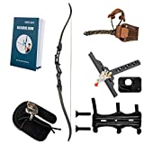 Rochan Recurve Bow Takedown Hunting Bow and Arrow Archery Set for Teens Adults