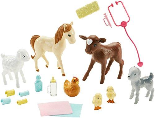 Coffret de Jeu Barbie Vétérinaire de Ferme - 8
