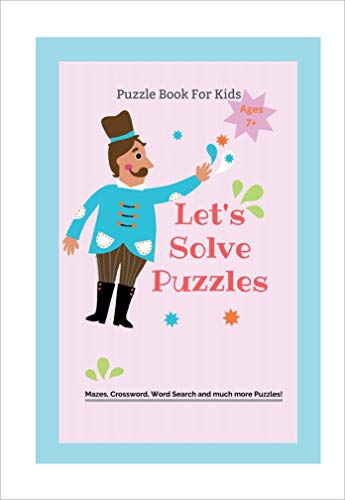 let's solve puzzels (Puzzles Books Book 1) (English Edition)